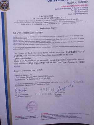 Travel Tourism CV | Travel & Tourism CVs for sale in Lagos State, Ikorodu