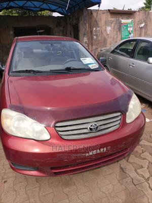 Toyota Corolla 2004 LE Red | Cars for sale in Lagos State, Isolo
