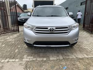 Toyota Highlander 2013 Limited 3.5l 4WD Silver | Cars for sale in Lagos State, Surulere