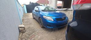 Toyota Corolla 2009 1.8 Advanced Blue | Cars for sale in Lagos State, Isolo