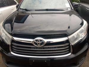 Toyota Highlander 2015 Black | Cars for sale in Lagos State, Agege