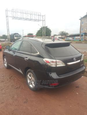 Lexus RX 2012 350 FWD Black | Cars for sale in Lagos State, Alimosho