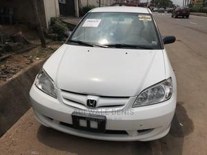 Honda Civic 2004 Sedan DX White | Cars for sale in Lagos State, Ikeja