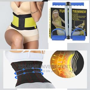 Body Slimming Sweat Bands Waist Trimmer Belt +Tummy Trimmer | Tools & Accessories for sale in Lagos State, Alimosho