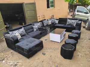 Beautiful U Shap With Center Table   Furniture for sale in Lagos State, Ikeja