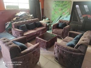 Beautiful 7seater With Center Table   Furniture for sale in Lagos State, Ikeja