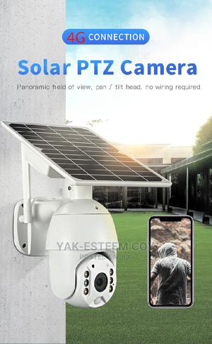 Low Power 4G PTZ Solar Powered IP Camera. Product Image Thum | Security & Surveillance for sale in Lagos State, Ikeja