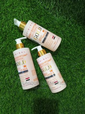 Pure Egyptian Magic Whitening Gold Lotion | Skin Care for sale in Lagos State, Ikorodu
