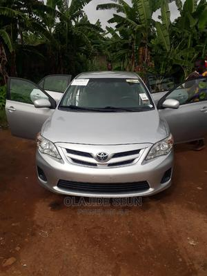 Toyota Corolla 2011 Silver | Cars for sale in Osun State, Ilesa