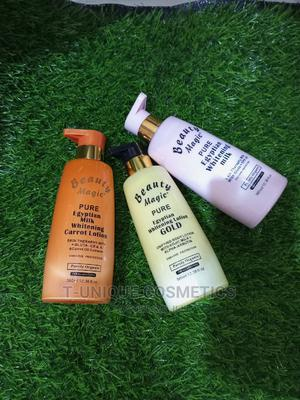 Beauty Magic Pure Egyptian Whitening Lotion | Skin Care for sale in Lagos State, Ikorodu