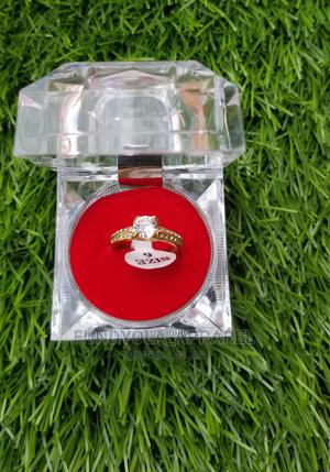 Gold Plated Engagement Proposal Ring | Wedding Wear & Accessories for sale in Lagos State, Ajah
