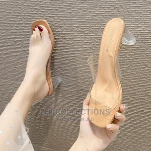 Transparent Female Heels | Shoes for sale in Edo State, Ekpoma