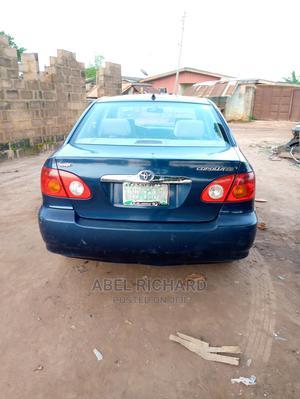 Toyota Corolla 2004 Sedan Blue   Cars for sale in Ogun State, Ado-Odo/Ota
