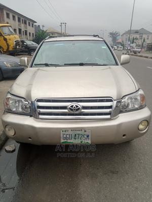 Toyota Highlander 2002 Gold | Cars for sale in Rivers State, Port-Harcourt