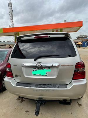 Toyota Highlander 2005 Limited V6 Silver   Cars for sale in Ogun State, Obafemi-Owode