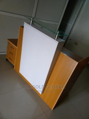 Standard Wood Reception Table   Furniture for sale in Lagos State, Shomolu