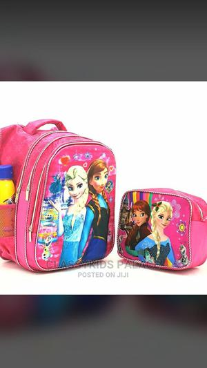 Girls Light-Up Frozen Character School Bag Lunch Bag   Babies & Kids Accessories for sale in Ondo State, Akure