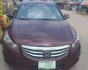 Honda Accord 2009 2.0i Automatic Red   Cars for sale in Lagos State, Shomolu