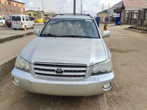 Toyota Highlander 2003 Limited V6 AWD Gray | Cars for sale in Lagos State, Alimosho