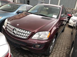 Mercedes-Benz M Class 2008 ML 350 4Matic Red | Cars for sale in Lagos State, Ojodu
