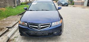 Acura TSX 2007 Automatic Blue | Cars for sale in Lagos State, Abule Egba