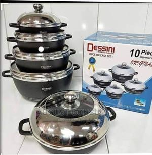 Dessini 10 Sets Non-Sticky Pots | Kitchen & Dining for sale in Lagos State, Ikeja