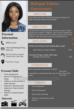 Computing IT CV | Computing & IT CVs for sale in Lagos State, Surulere