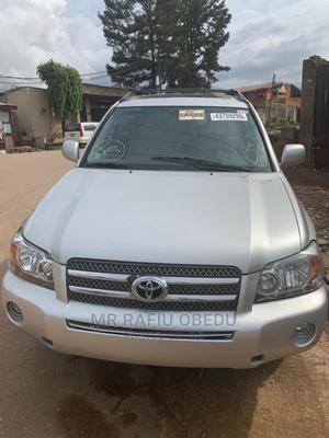 Toyota Highlander 2007 Hybrid Limited Silver   Cars for sale in Lagos State, Ifako-Ijaiye