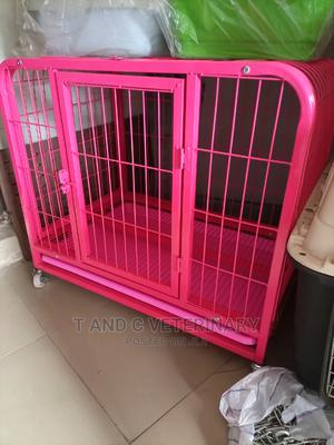 Heavy Duty Metal Dog Pet Cage House   Pet's Accessories for sale in Lagos State, Agege