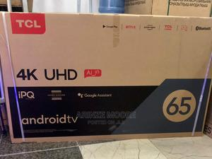 (65P615) TCL 65-Inches 4K Uhd Android TV | TV & DVD Equipment for sale in Lagos State, Lagos Island (Eko)