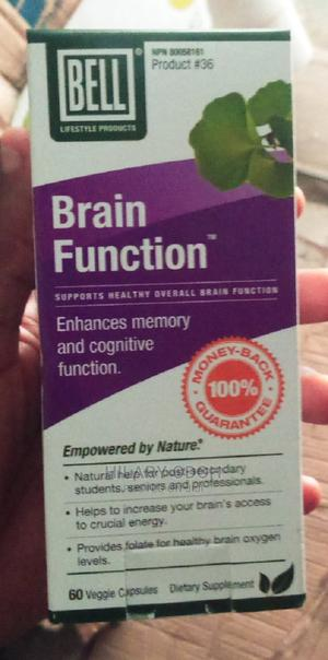 Bell Lifestyle Bell Brain Function - 60 Capsules   Vitamins & Supplements for sale in Lagos State, Ojo