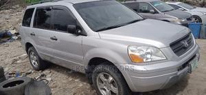Honda Pilot 2005 EX-L 4x4 (3.5L 6cyl 5A) Silver | Cars for sale in Lagos State, Amuwo-Odofin