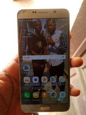 Samsung Galaxy Note 5 32 GB Gold | Mobile Phones for sale in Lagos State, Shomolu