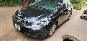 Honda Civic 2012 Black   Cars for sale in Lagos State, Surulere