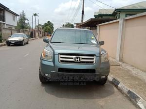 Honda Pilot 2006 EX 4x2 (3.5L 6cyl 5A) Blue | Cars for sale in Lagos State, Ikeja
