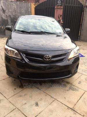 Toyota Corolla 2012 Black | Cars for sale in Lagos State, Abule Egba
