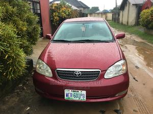 Toyota Corolla 2005 LE Red | Cars for sale in Cross River State, Calabar