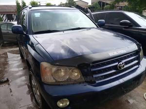 Toyota Highlander 2003 Limited V6 AWD Blue   Cars for sale in Lagos State, Ikeja