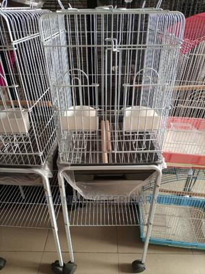 Standing Pet Bird Parrot Cage House   Pet's Accessories for sale in Lagos State, Agege
