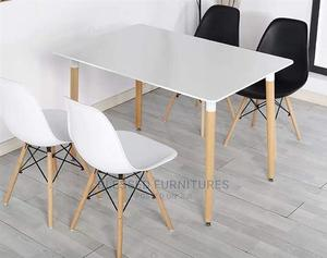 Higher Quality Modern Multipurpose 4seaters Table   Furniture for sale in Lagos State, Ojo