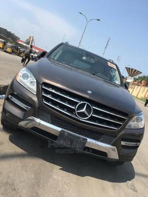 Mercedes-Benz M Class 2012 ML 350 4Matic Brown | Cars for sale in Lagos State, Egbe Idimu