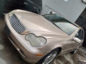 Mercedes-Benz C240 2002 Gold | Cars for sale in Lagos State, Ikeja