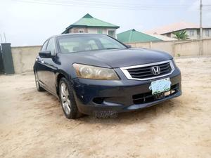Honda Accord 2009 Sedan EX-L V6 Automatic Blue   Cars for sale in Lagos State, Ajah