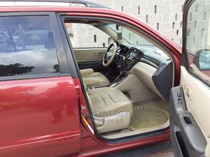 Toyota Highlander 2003 Limited V6 AWD Red   Cars for sale in Lagos State, Amuwo-Odofin