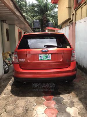Ford Edge 2007 SE 4dr FWD (3.5L 6cyl 6A) Red   Cars for sale in Lagos State, Amuwo-Odofin