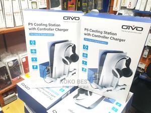 Ps5 Cooling With Controller Charger | Accessories & Supplies for Electronics for sale in Lagos State, Ikeja