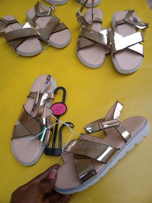 Gold Sandals Girls   Children's Shoes for sale in Lagos State, Lekki