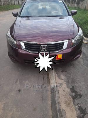 Honda Accord 2010 Sedan EX Automatic Red | Cars for sale in Lagos State, Surulere