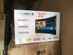 """Polystar 32"""" Curve 4k Led Television 