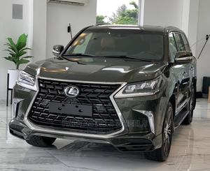 New Lexus LX 2021 570 AWD Black | Cars for sale in Lagos State, Victoria Island
